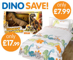 Save on Dinosaurs at B&M.