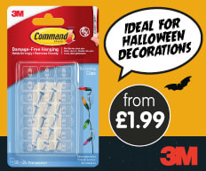 Save on 3M Command at B&M.