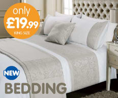 Save on bedding at B&M.