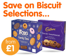 Save on Biscuit Selections at B&M.