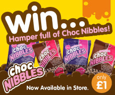 Win a Choc Nibbles Hamper with B&M.