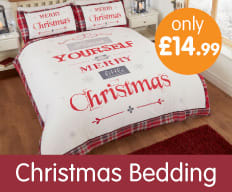 New range of Christmas Bedding now instore at B&M.