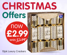 Save on Christmas Offers at B&M.