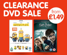 DVD sale now on at B&M.