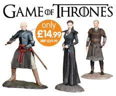 Save on Games of Thrones Figures at B&M.