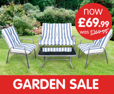 Save on Garden Equipment at B&M.