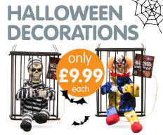 Save on Halloween Decorations at B&M.