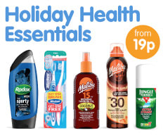 Save on Holiday Health Essentials at B&M.