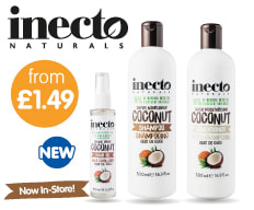 Save on Inecto at B&M.