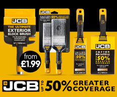 Save on JCB Brushes at B&M.