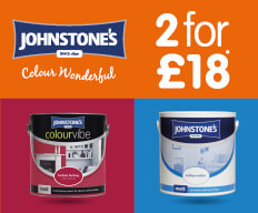 2 for £18 Johnstones paint.