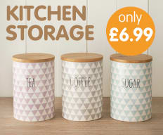Save on Kitchen Storage at B&M.