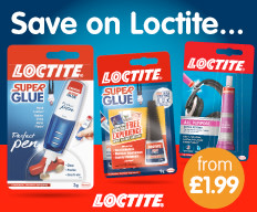 Save on Loctite at B&M.
