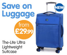 Save on Luggage at B&M.