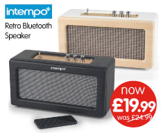 Save on Intempo Bluetooth Radio at B&M.
