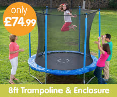 Save on Trampolines at B&M.