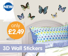 Save on Wall Stickers at B&M.