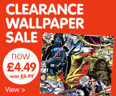 Wallpaper Clearance at B&M.
