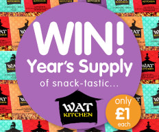 Win a year's supply of WAT KITCHEN from B&M.