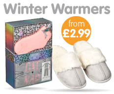Save on Winter Warmers at B&M.