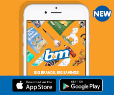 Download the B&M APP.
