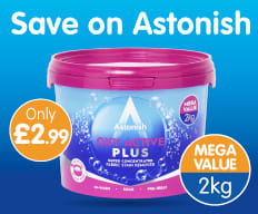 Save on Astonish at B&M.