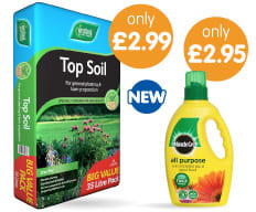 Garden essentials for less at B&M.