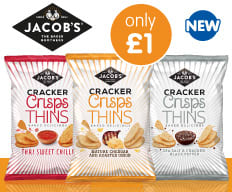Save on Cracker Crisps at B&M.