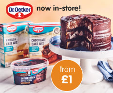 Save on Dr Oekter baking range at B&M.