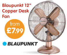 Save on cooling fans at B&M.