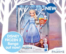 Frozen 2 Toys out now at B&M.