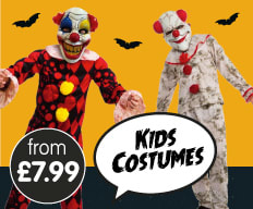Save on Halloween Kids Costumes at B&M.