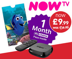 Save on NOW TV at B&M.