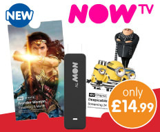 New NOW TV Stick at B&M.