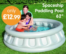 Save on Paddling Pools at B&M.