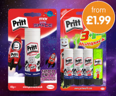 Save on Pritt at B&M.