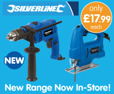 Save on Silverline Tools at B&M.