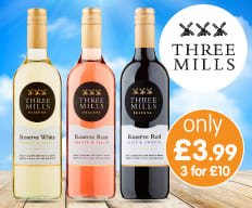 Save on Three Mills Wine at B&M.