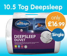 Save on Winter Duvets at B&M.