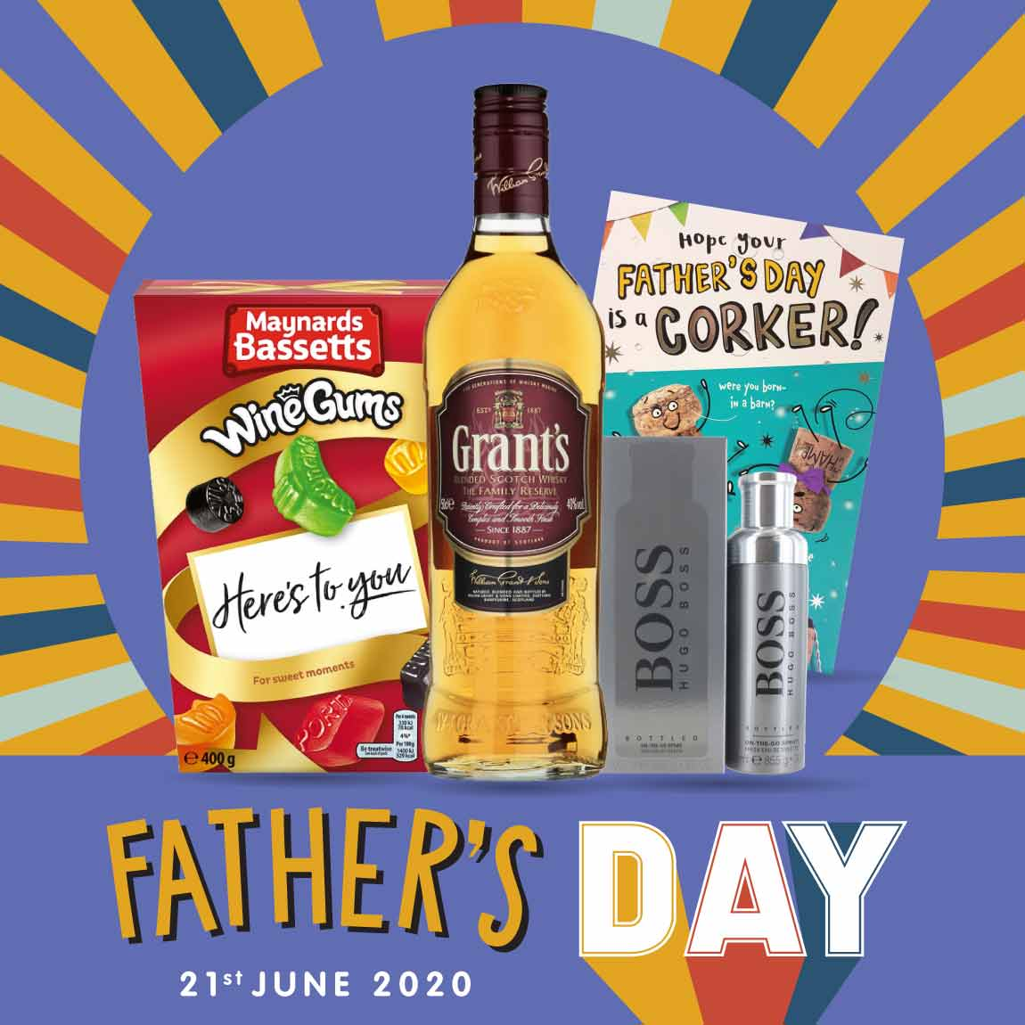 Save on Father's Day Gifts in store at B&M.