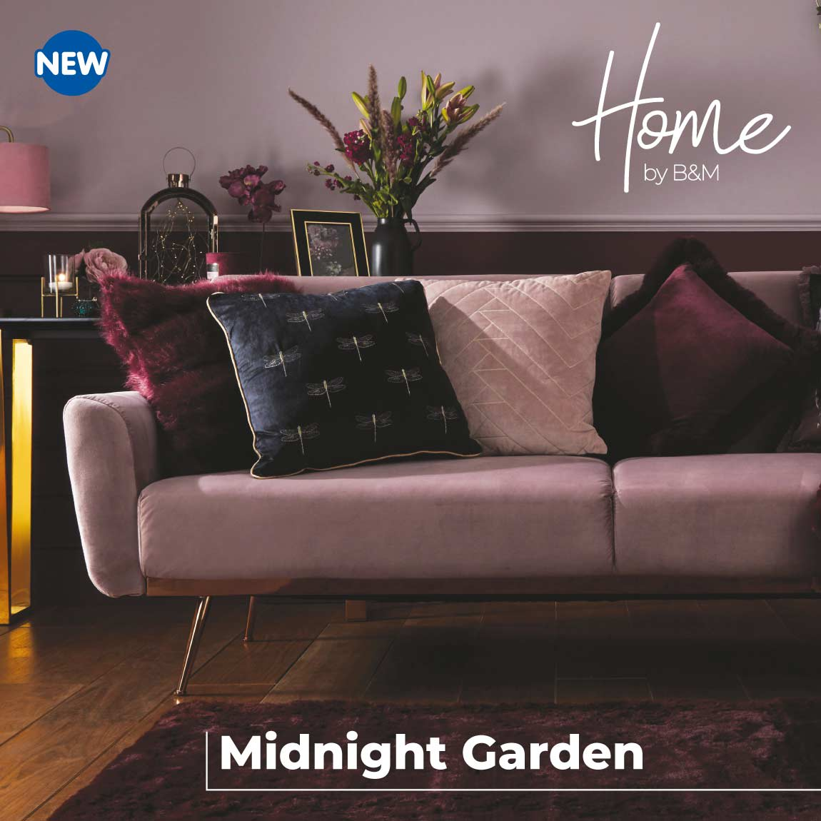 Midnight Garden now in-store at B&M.