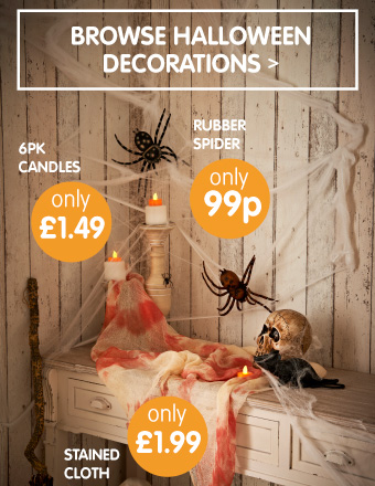 B m halloween costumes fancy dress decorations trick for B m halloween decorations
