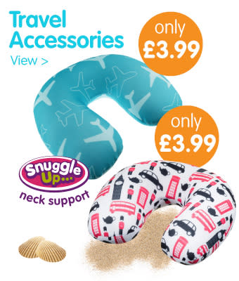 Travel Accessories from 99p