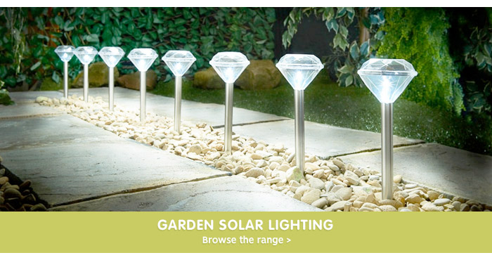 Save on solar lighting at bm