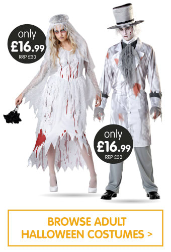 Save on Adult Halloween Costumes at B&M.