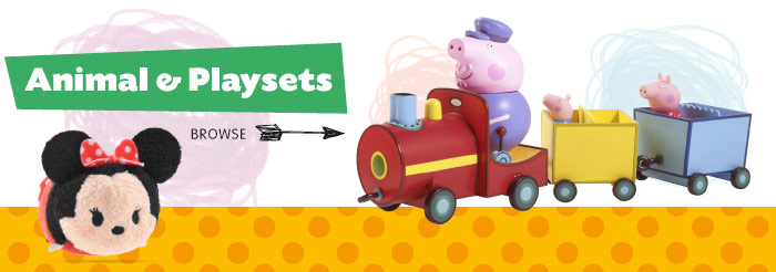 Save on Animal Toys and Playsets at B&M.