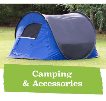 Save on Camping Equipment at B&M.