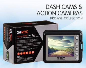 Dash Cams & Action Cameras