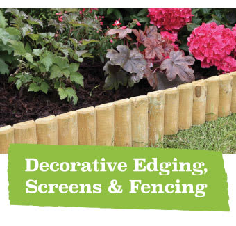 Save on Decorative Edging at B&M.