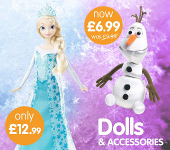 Save on Dolls and Accessories at B&M.